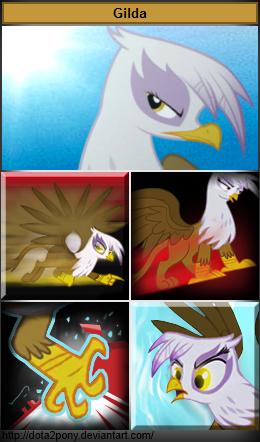 Gilda, the Spiritbreaker by Dota2Pony
