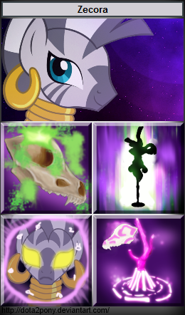 Zecora, the Witch Doctor by Dota2Pony