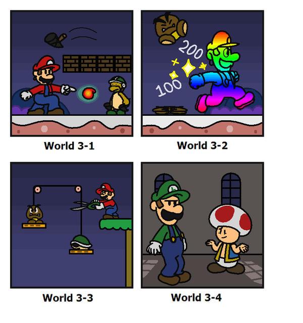 SMB: World 3 by minimariodrawer