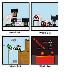 Super Mario Bros  by minimariodrawer on DeviantArt