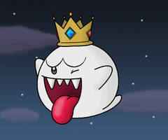 King Boo by minimariodrawer