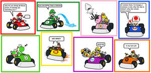 Mario kart: partners in time