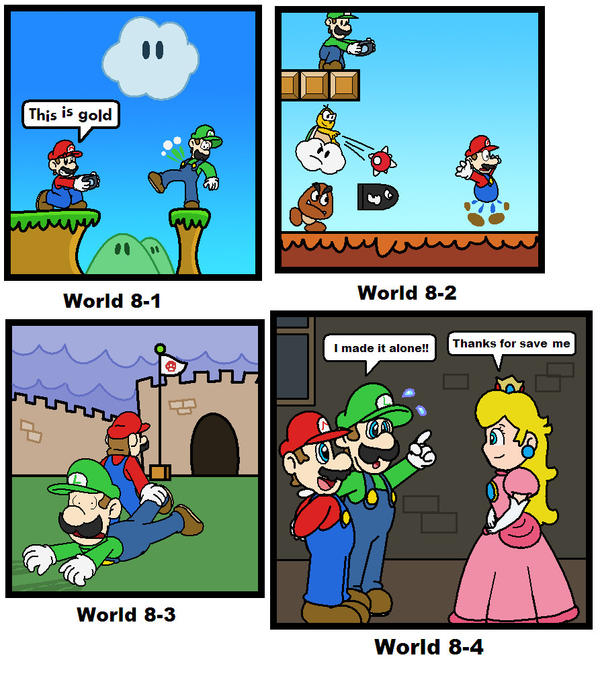 SMB: World 8 by minimariodrawer on DeviantArt