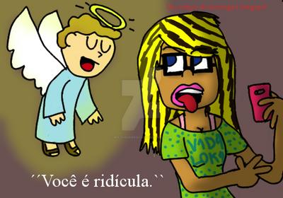 Anjo da sabedoria by Bia-Figueiredo