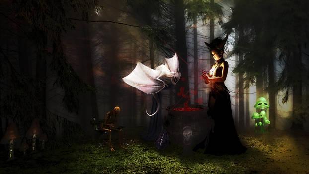 Bloodmagic Witch