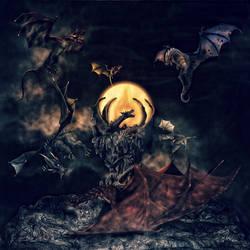 Dragon Moths by DragonianFantasy