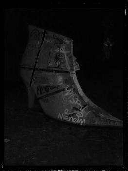 Ankle Boot in the Night