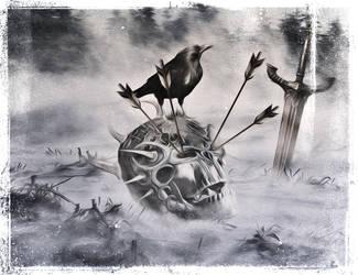 Lonesome Warrior by DragonianFantasy