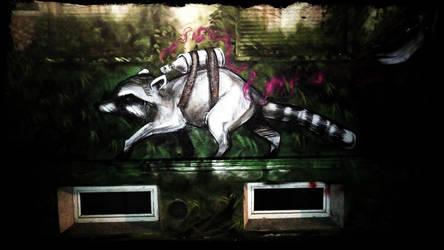 Streetlife Art - Sprayer by DragonianFantasy