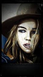 Streetlife Art - Young Human by DragonianFantasy