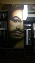 Streetlife Art - The Barber I by DragonianFantasy