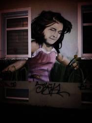 Streetlife Art - Child by DragonianFantasy
