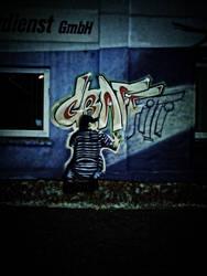 Streetlife Art - Graffiti by DragonianFantasy