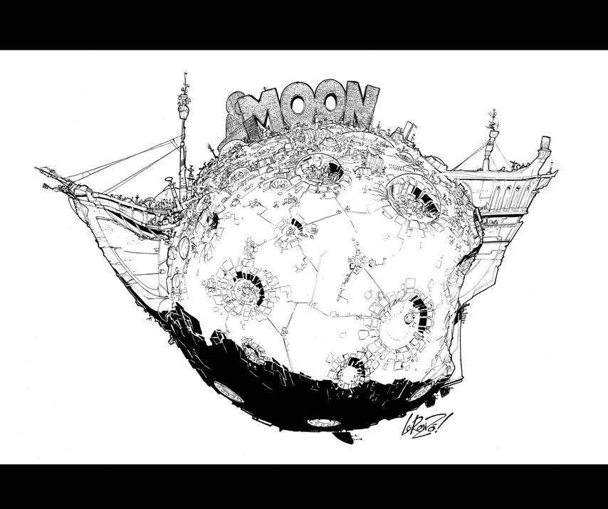 MOON by STUDIOBLINKTWICE