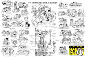 37 VEHICLE CONCEPTS by EtheringtonBrothers