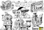6 monster house concepts