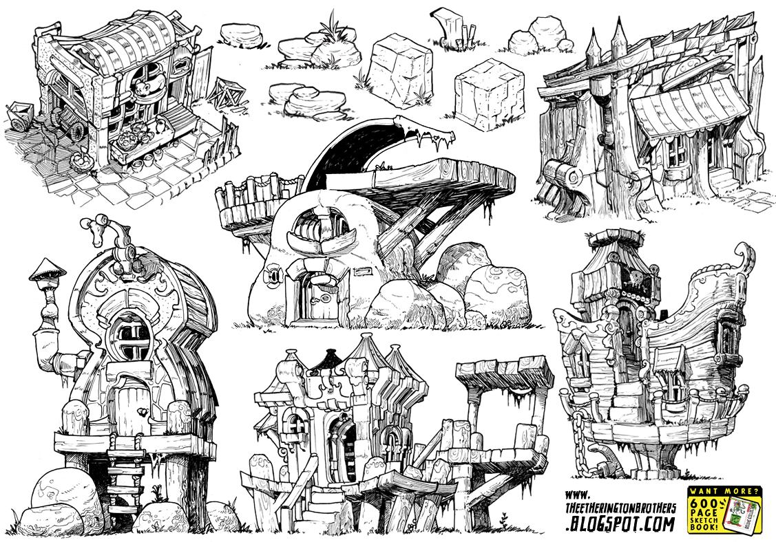 Wood Lego House 6 Monster House Concepts By Studioblinktwice On Deviantart