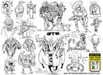 17 Robot Concepts by EtheringtonBrothers