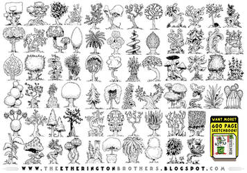 68 Forest and Jungle concepts by EtheringtonBrothers