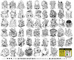 52 Adventure House Concepts by EtheringtonBrothers