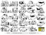 24 Retro Vehicle Concepts by EtheringtonBrothers