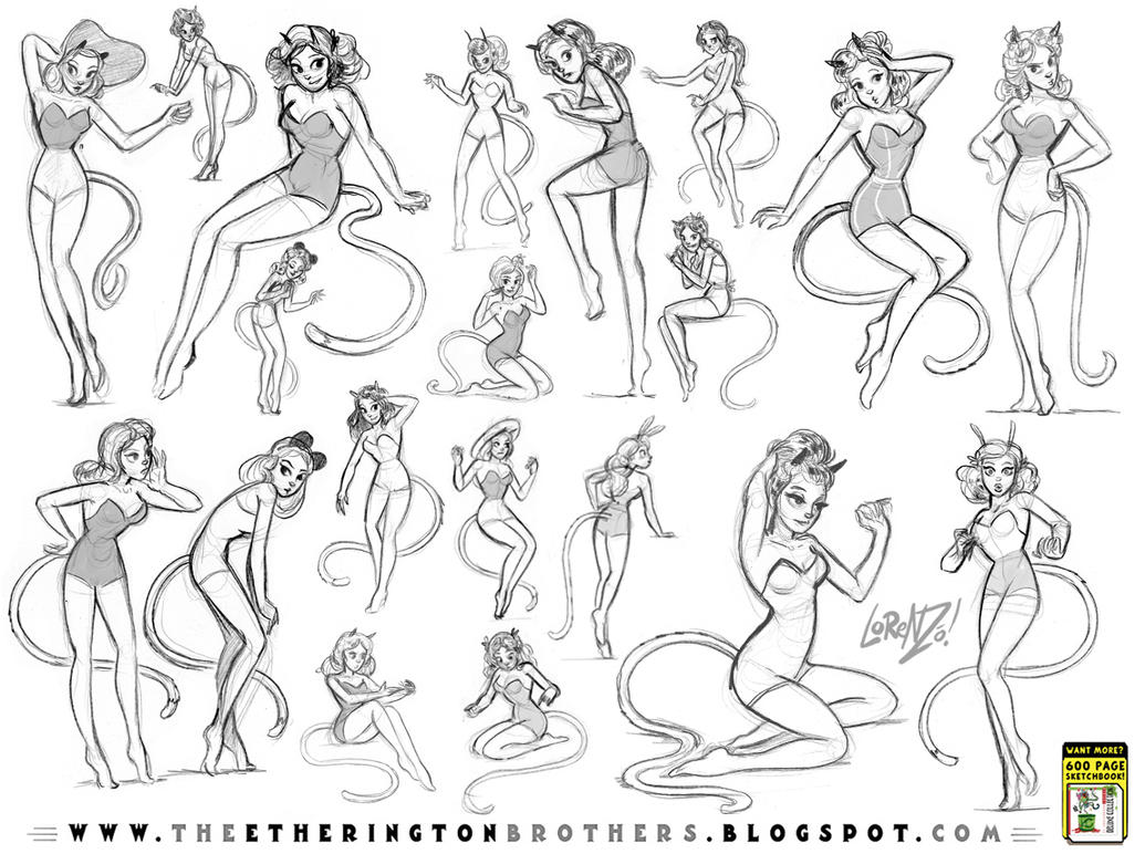 Pinups Part 2 by STUDIOBLINKTWICE