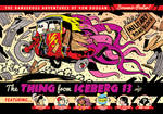 Von Doogan and the Thing From Iceberg 13 poster by EtheringtonBrothers