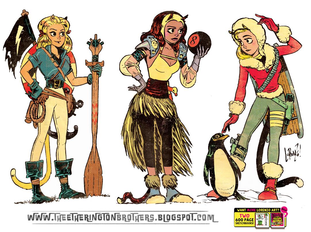Adventure Girls set 1 by STUDIOBLINKTWICE