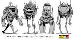 4 Friendly Robots