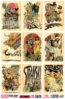 A2 Stranski Prints - 15 pounds each, FREE DELIVERY