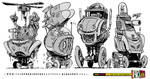 4 Weird Battle Vehicle concepts SERIES TWO