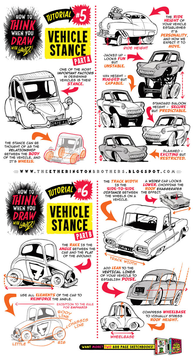 How to draw CARS VEHICLES TRUCKS CONCEPTS tutorial by ...