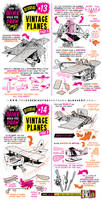 How to draw PLANES + FLYING MACHINES tutorial by EtheringtonBrothers
