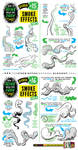 How to draw SMOKE DUST CLOUD EFFECTS tutorial by EtheringtonBrothers