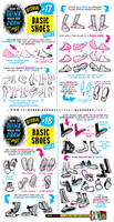 How to draw FEET, SHOES and BOOTS tutorial by EtheringtonBrothers