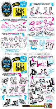 How to draw FEET, SHOES and BOOTS tutorial
