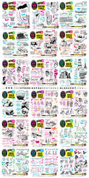 Links to ALL tutorials from January and February by EtheringtonBrothers