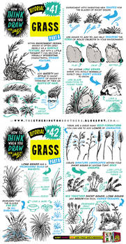 How to draw GRASS tutorial