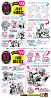 How to draw JUNK HOUSES tutorial