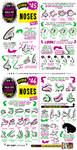 How to draw NOSES tutorial by EtheringtonBrothers