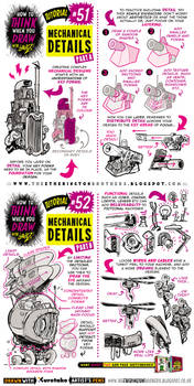 How to draw MECHANICAL DETAILS tutorial