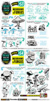 How to draw MUSHROOMS and FUNGUS tutorial by EtheringtonBrothers
