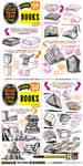 How to draw BOOKS and SPELL BOOKS tutorial by EtheringtonBrothers