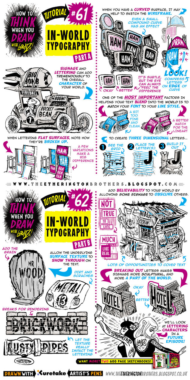 How To Draw In World Typography Lettering Tutorial By