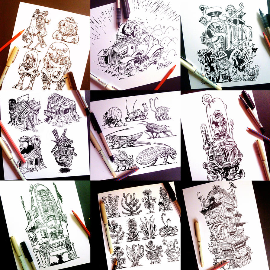 Instagram Twitter And Tumblr Sketches Part TWO By STUDIOBLINKTWICE