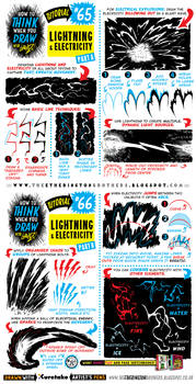 How to draw LIGHTNING and ELECTRICITY EFFECTS by EtheringtonBrothers