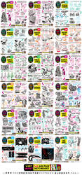 Links to ALL tutorials from JULY and AUGUST 2017 by EtheringtonBrothers