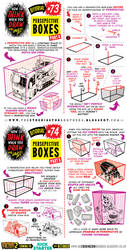 How to draw with PERSPECTIVE BOXES tutorial by EtheringtonBrothers