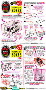 How to draw with PERSPECTIVE BOXES tutorial
