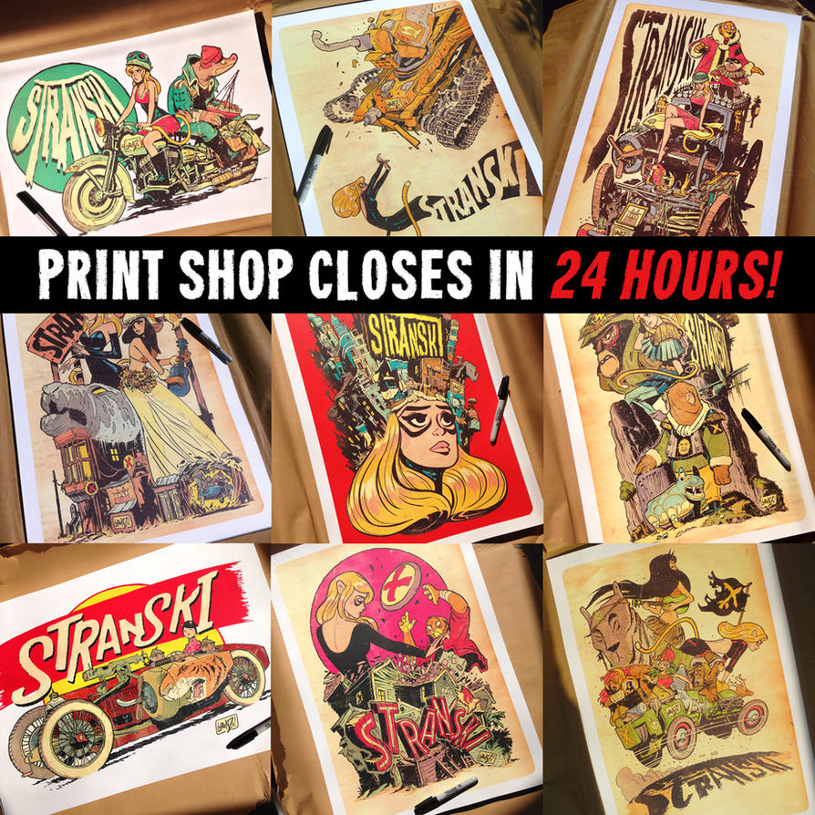 Print shop CLOSES for GOOD in 24 hours! by STUDIOBLINKTWICE